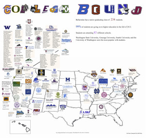 The places they will go…Class of 2013 college map