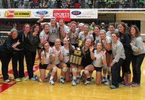 Volleyball: 3-time State Champs