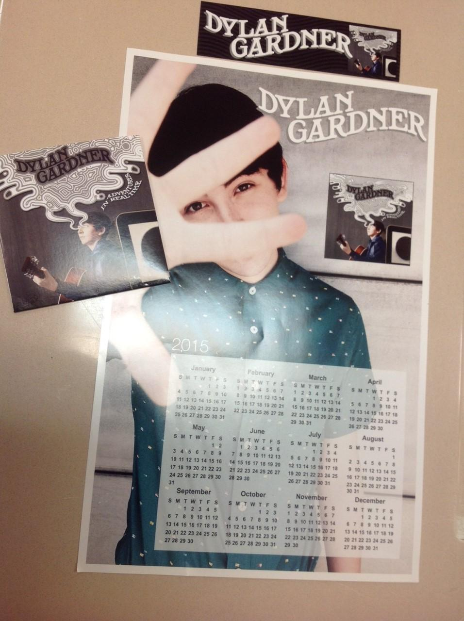 Dylan Gardner promotional material Photo by Jeanne Hanigan