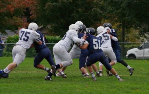 Bellarmine C-Team Defeats Olympia 21-6 on Mon Oct. 27. (Photo Courtesy of Erin Behkne)