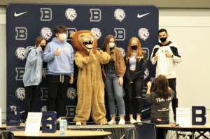 The Class of 2024 were welcomed briefly on campus in October 2020. Photo courtesy of Bellarmineprep.org